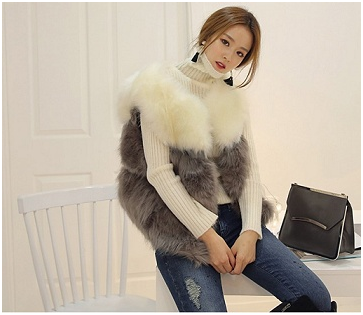 Three Cool Ways to Wear Your Fur Vest this Winter