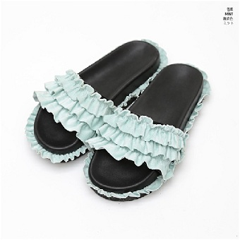 Sandals With Ruffles