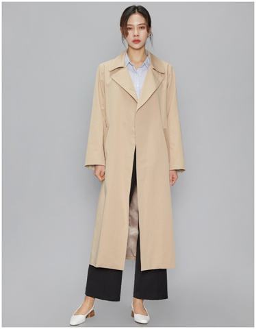 Fresh A Basic Trench Coat