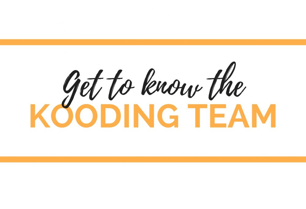 Get to Know our KOODING Team!