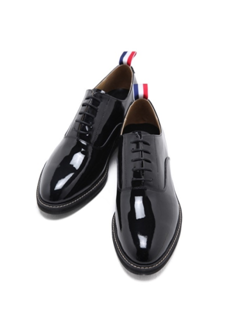 Enamel Plain Loafers