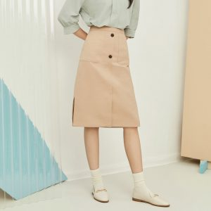 mind bridge midi skirt